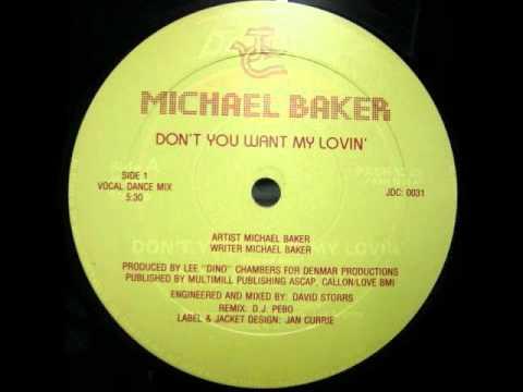 RARE FUNK - MICHAEL BAKER - DON'T YOU WANT MY LOVIN WWW.FUNKPOWER.FR