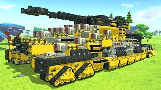 CONSTRUCTION D'UN TANK ! | TerraTech ! #Ep2