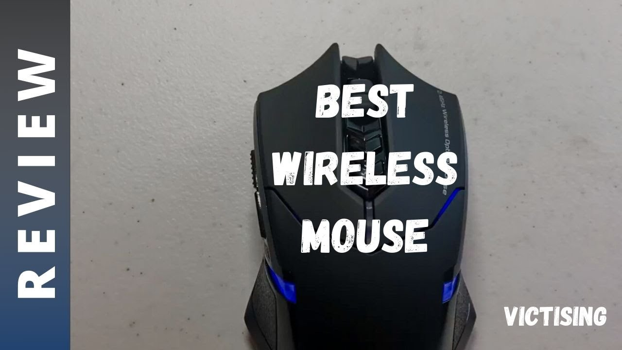 VicTsing Wireless Gaming Mouse Review - Best and Cheapest Wireless Gaming  Mouse