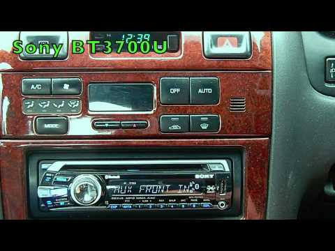 mex bt3700u sony mexbt3700u cd receiver bluetooth hands sony mex bt3700u bluetooth stereo demonstration duration 5 53 total views 18 305 rating 5 5 based on 21 reviews