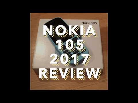 The New Nokia 105 2017 Review UK