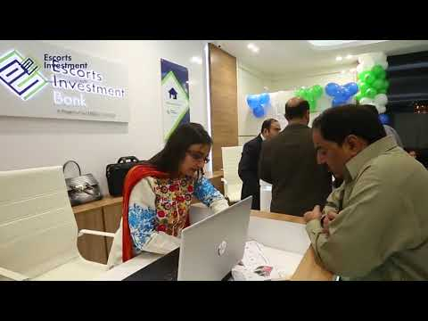 Escorts Investment Bank Lahore Branch Opening