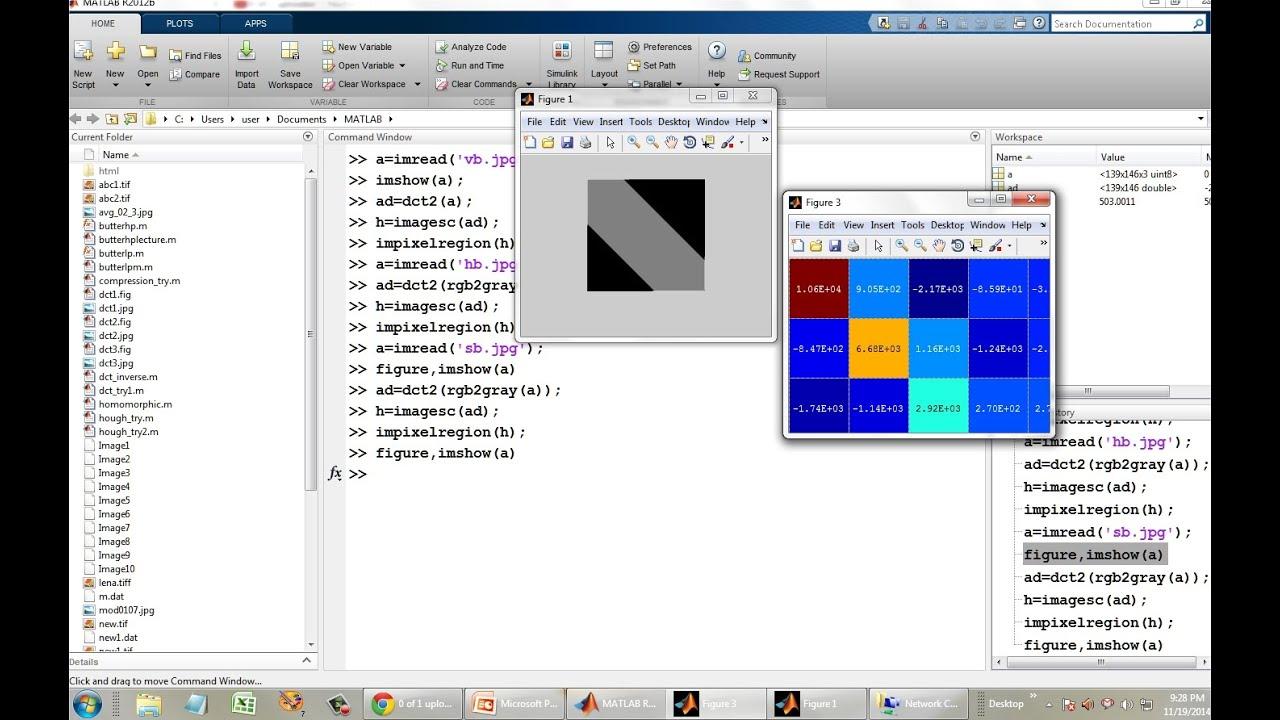 Image Compressing using Discrete Cosine Transform in Matlab- Part 1