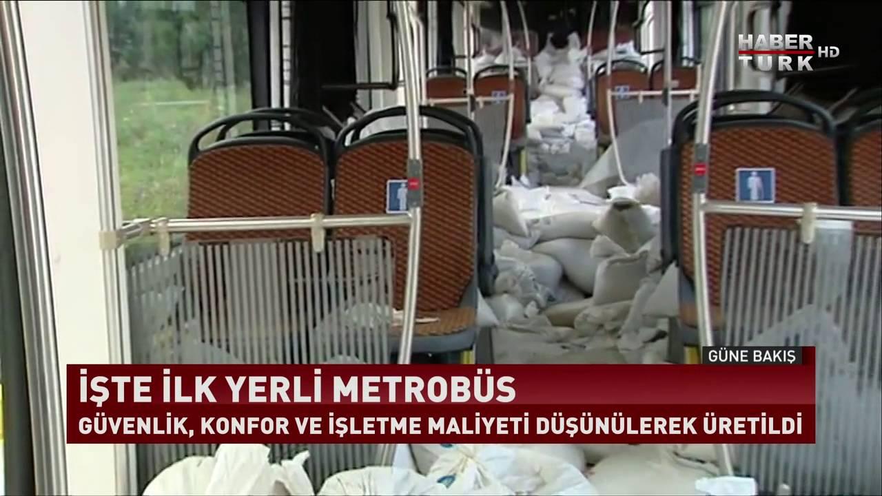 İşte İlk Yerli Metrobüs