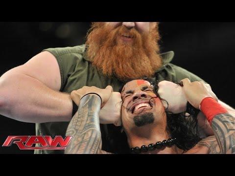 Rey Mysterio & The Usos vs. Daniel Bryan, Luke Harper & Erick Rowan: Raw, Jan. 6, 2014