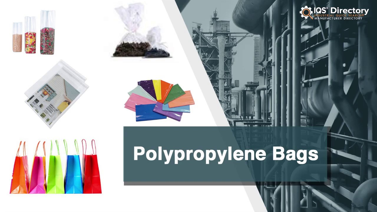 Polypropylene Bag Manufacturers Suppliers | IQS Directory