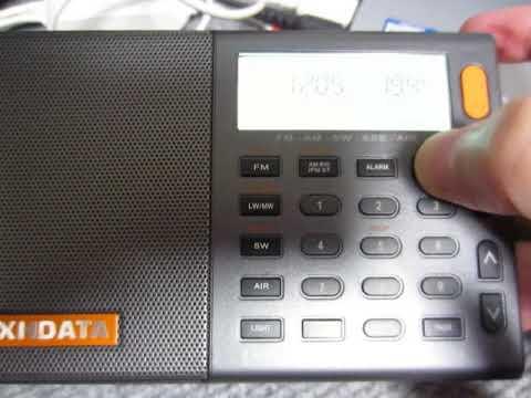 XHDATA D-808 7205kHz Sudan Radio (Presumed) Part 2