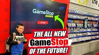 Inside The New Gamestop Of The Future! Exclusive First Look At Gamestop Social Store!!