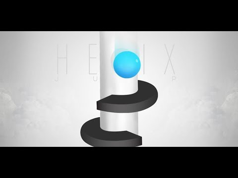 Helix Jump (Voodoo) New World Record level +1000 and 1.217.038 high score NO HACK