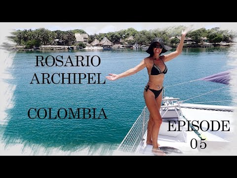 Sailing Trip Family - EP05 - Rosario Archipel - Colombia