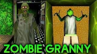 GRANNY IS ZOMBIE! CAR ESCAPE ENDING! - G...