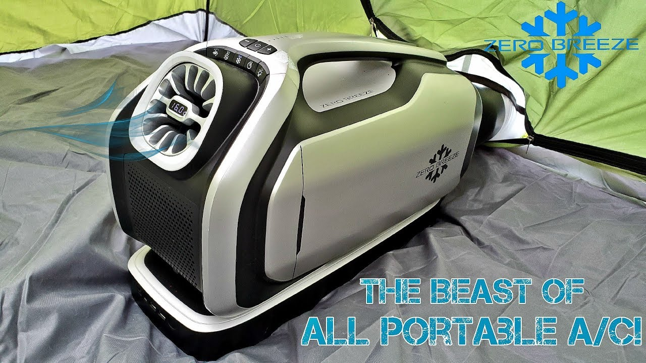 Zero Breeze Mark 2 0 Insane Portable Air Conditioner 2019 Summer Tested Youtube