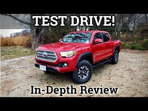 Test Drive And Review | 2017 Toyota Tacoma TRD Off Road