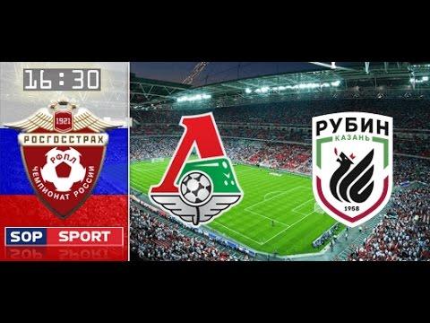 Прямой эфир: Локомотив-Рубин