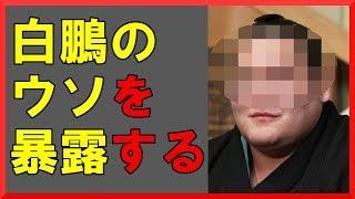 """日馬富士の貴ノ岩への暴行で大きな論点になっていた""""何で殴ったか""""につ..."""