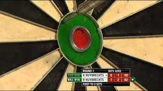 Kim Huybrechts vs Ronnie Huybrechts - PDC World Darts Championships 2014 First Round