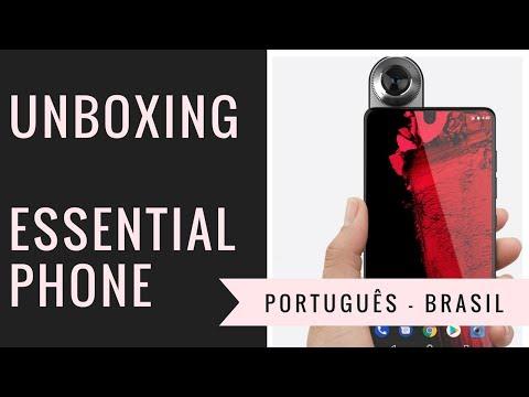 Unboxing Essential Phone - Português Brasil