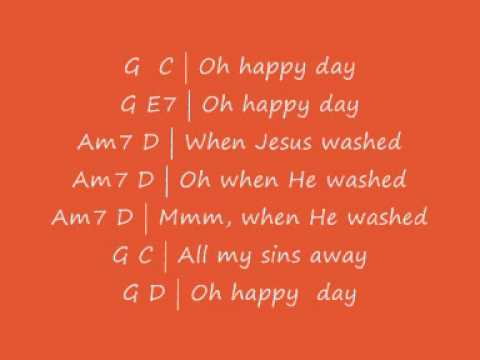 Oh Happy Day Chords Image Collections Chord Guitar Finger Position