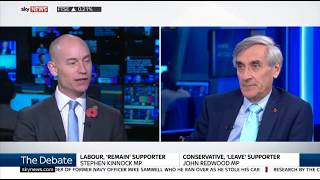John Redwood debates the subject 'Should the Government release the Brexit studies?'