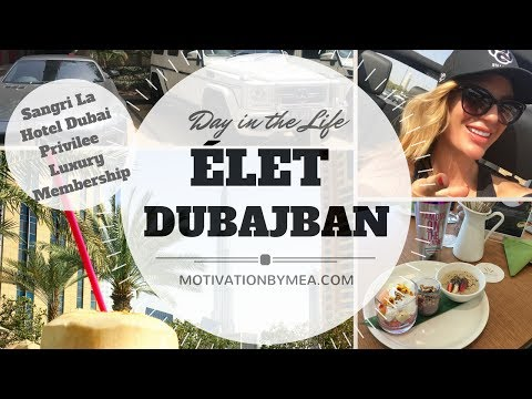 DAY IN THE LIFE – PRIVILEE LUXURY LIFE IN DUBAI / ÉLET DUBAJBAN – EGY NAP VELEM