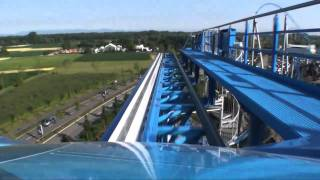 Blue Fire Roller Coaster On Ride POV - Europa Park, Germany HD(Follow us on Twitter http://www.twitter.com/themeparkreview and Facebook http://www.facebook.com/themeparkreview - Blue Fire Roller Coaster On Ride POV ..., 2010-09-11T08:38:03.000Z)