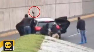 Captan asalto en plena av. Javier Prado│RPP