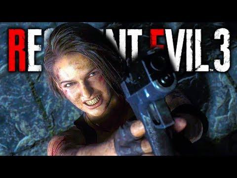 RESIDENT EVIL 3 REMAKE All Cutscenes Full Movie (2020) HD