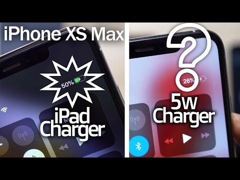 IPhone XS MAX Charging With IPad Charger- How Fast It Is!! Why Apple, Whyyy?👿