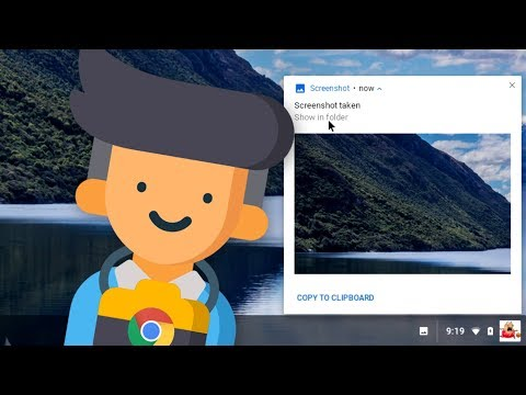 How to take a screenshot on a Chromebook - Chromebook How-To Series