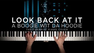 A Boogie wit da Hoodie - Look Back At It | The Theorist Piano Cover