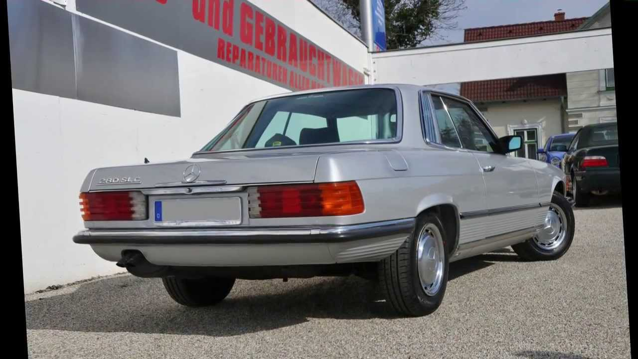 restauration mercedes 280 slc youtube. Black Bedroom Furniture Sets. Home Design Ideas