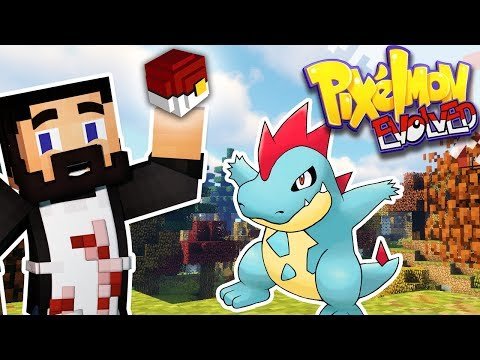 MINECRAFT PIXELMON EVOLVED! - EP01 - Introducing The B-League! (Pokemon In Minecraft)