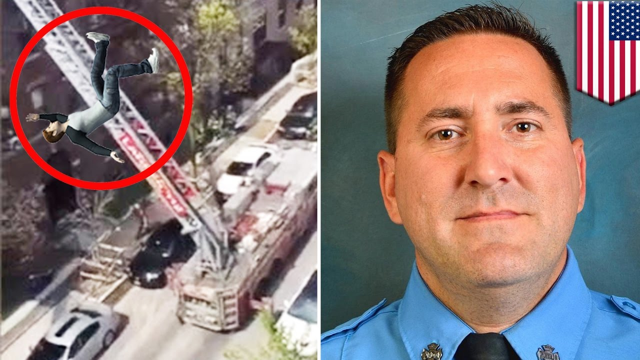 Firefighter Videos Fireman Falls 5 Stories To His Death