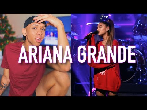 Ariana Grande - Imagine   The Tonight Show with Jimmy Fallon  REACTION & REVIEW