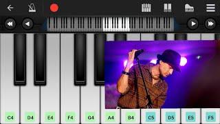 Din jole rati jole tutorial. . .learn piano with mobile perfect piano.