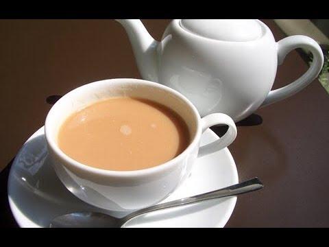 Как сделать чай с молоком