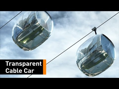 Float Through Chicago In A Transparent Cable Car