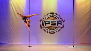 Monica van Beek - IPSF World Pole Championships 2018