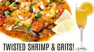 TWISTED Shrimp & Fully Loaded Grits | This Dish is LIT! 🔥