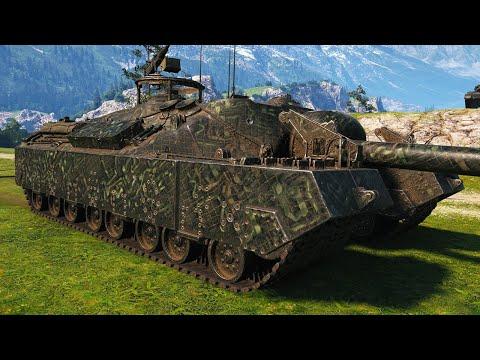 T95 - WALKING CASTLE - World of Tanks Gameplay