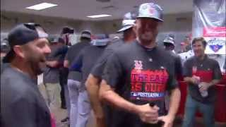 New York Mets celebrate National League East title