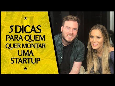 5 DICAS PARA QUEM QUER MONTAR UMA STARTUP! / C/ Patricia Meirelles!