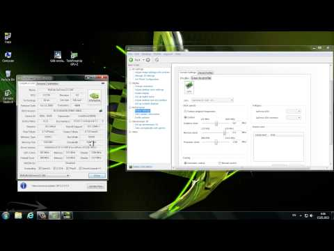 Nvidia GeForce GT220 Overclock