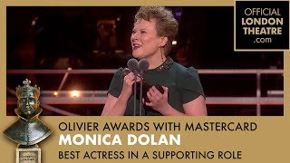 Best Actress in a Supporting Role - Olivier Awards 2019 with Mastercard