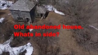 IS IT SAFE TO GO IN??  OLD ABANDONED HOUSE.