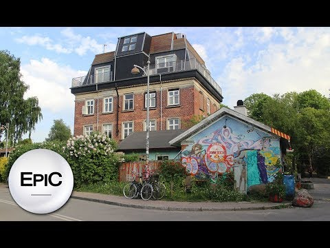 Christiania - Copenhagen, Denmark (HD)