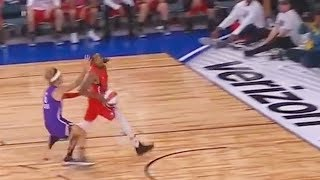 Justin Bieber Tries to Block Quavo and Fails! 2018 NBA All-Star Celebrity Game