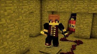 KENDİMİ HAVAYA UÇURDUM! (Minecraft Şans Bloklu Hunger Games)