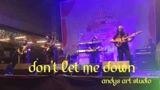 Video Dont let me down by Abadi Soesman Band download MP3, 3GP, MP4, WEBM, AVI, FLV Juli 2018