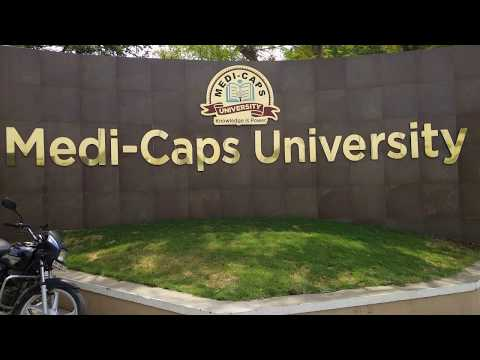 Medicaps University 🏬 Indore Campus tour